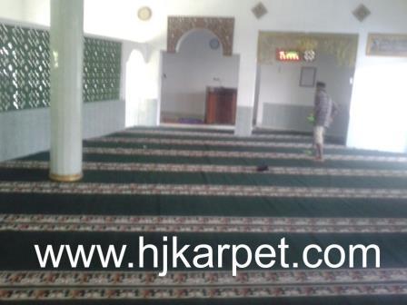 karpet masjid di konawe utara