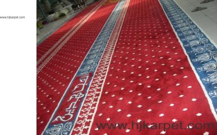 karpet masjid di hulu sungai selatan