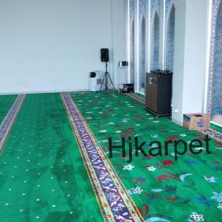 Pemasangan Karpet Masjid Al Hikmah Pt Toyota, cibitung