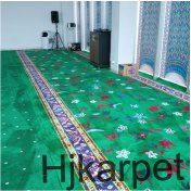 pemasangan karpet masjid AL HIKMAH