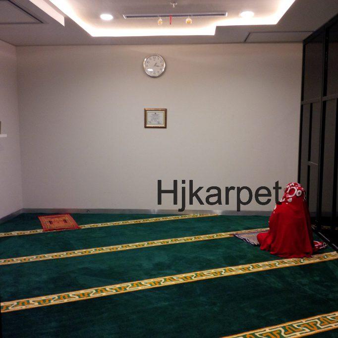 Pemasangan Karpet Musholla Kantor Cimb Niaga Blok M Jakarta