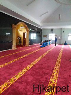 Pemasangan Karpet Masjid Kantor Pt Nippon Shokubai Indonesia
