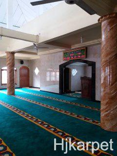 Pemasangan Karpet Masjid Jami Al Hidayah Depok