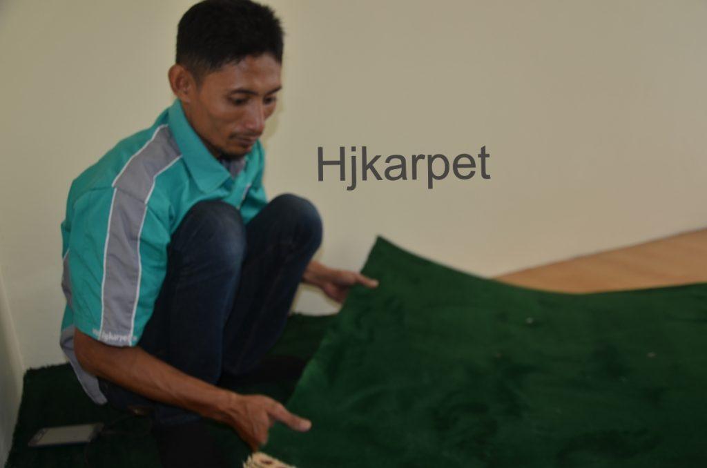 Pemasangan Karpet Musholla Kantor gedung thamrin
