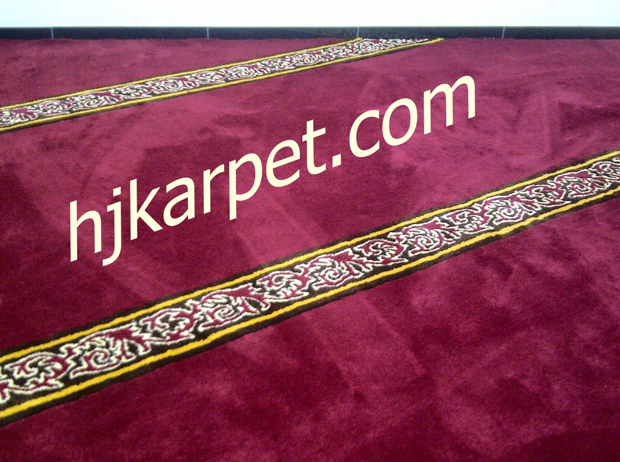 karpet masjid di buton