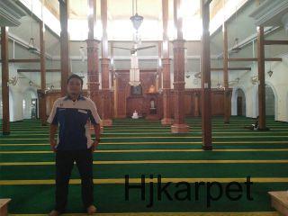 karpet masjid di kubu raya