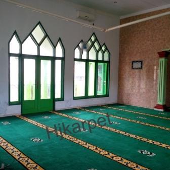 karpet masjid di hulu sungai utara
