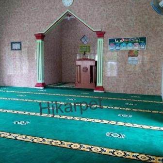karpet masjid di enrekang