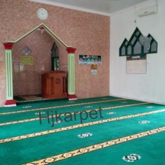 Pemasangan Karpet Masjid Nurussaadah,bayah tugu,banten,jabar