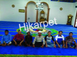 karpet masjid di kutai timur