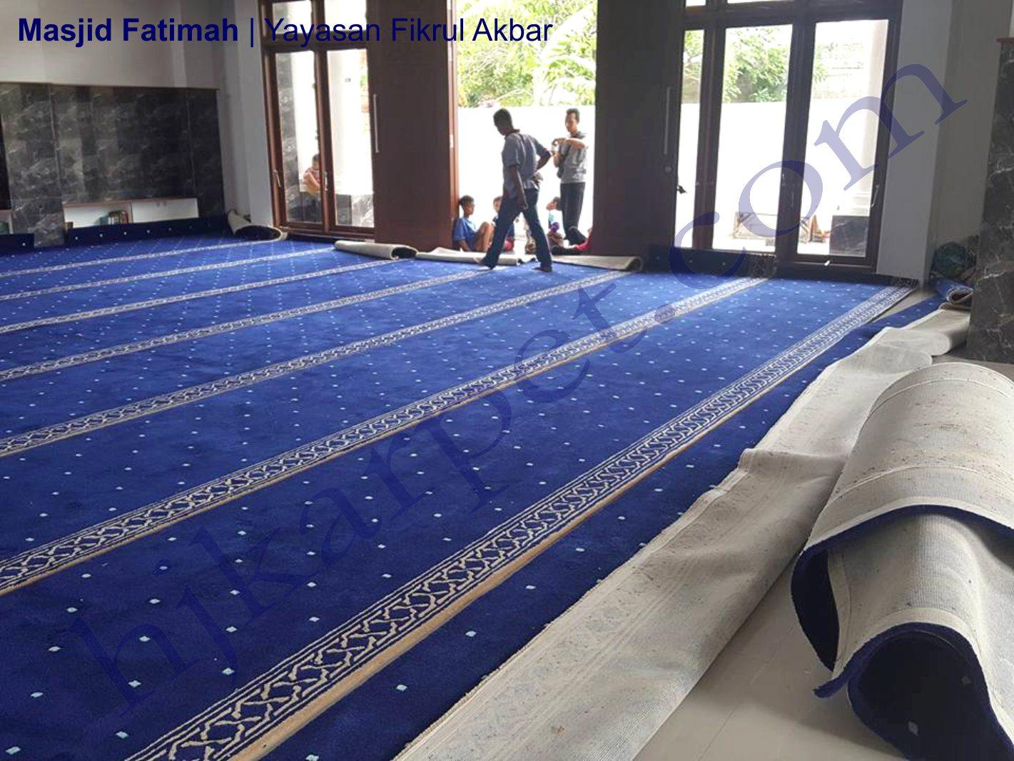 karpet masjid di polewali mandar
