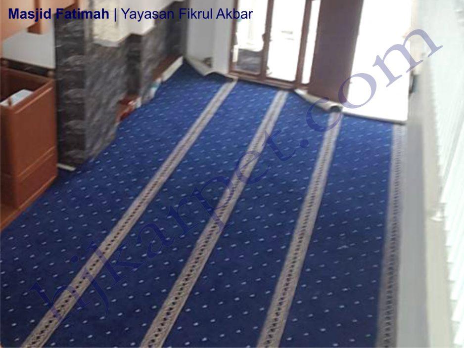 KARPET Masjid Fatimah Fikrul Akbar