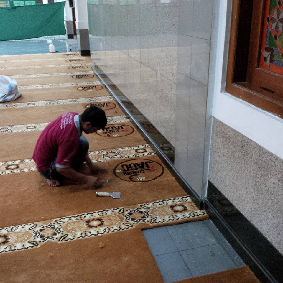 karpet masjid di bone