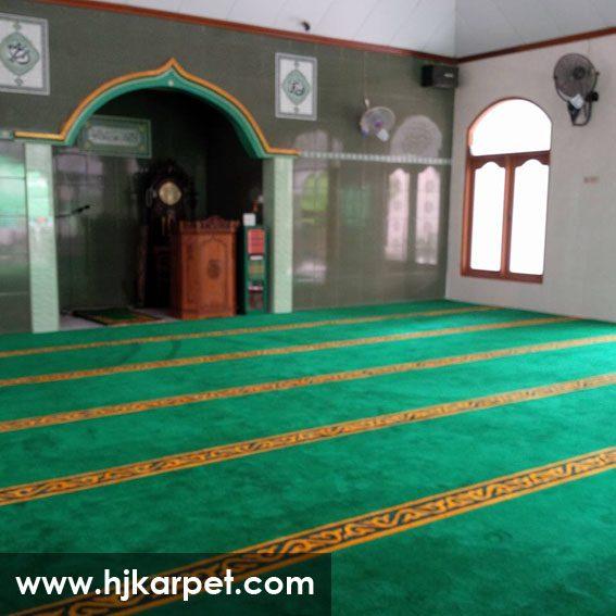 karpet masjid di aceh besar