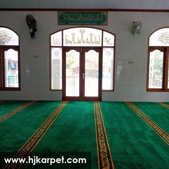 karpet masjid di kolaka utara