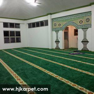 karpet masjid di aceh singkil