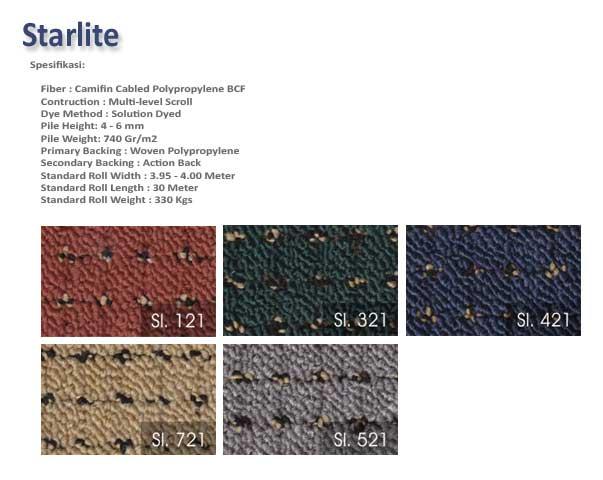 Karpet Starlite