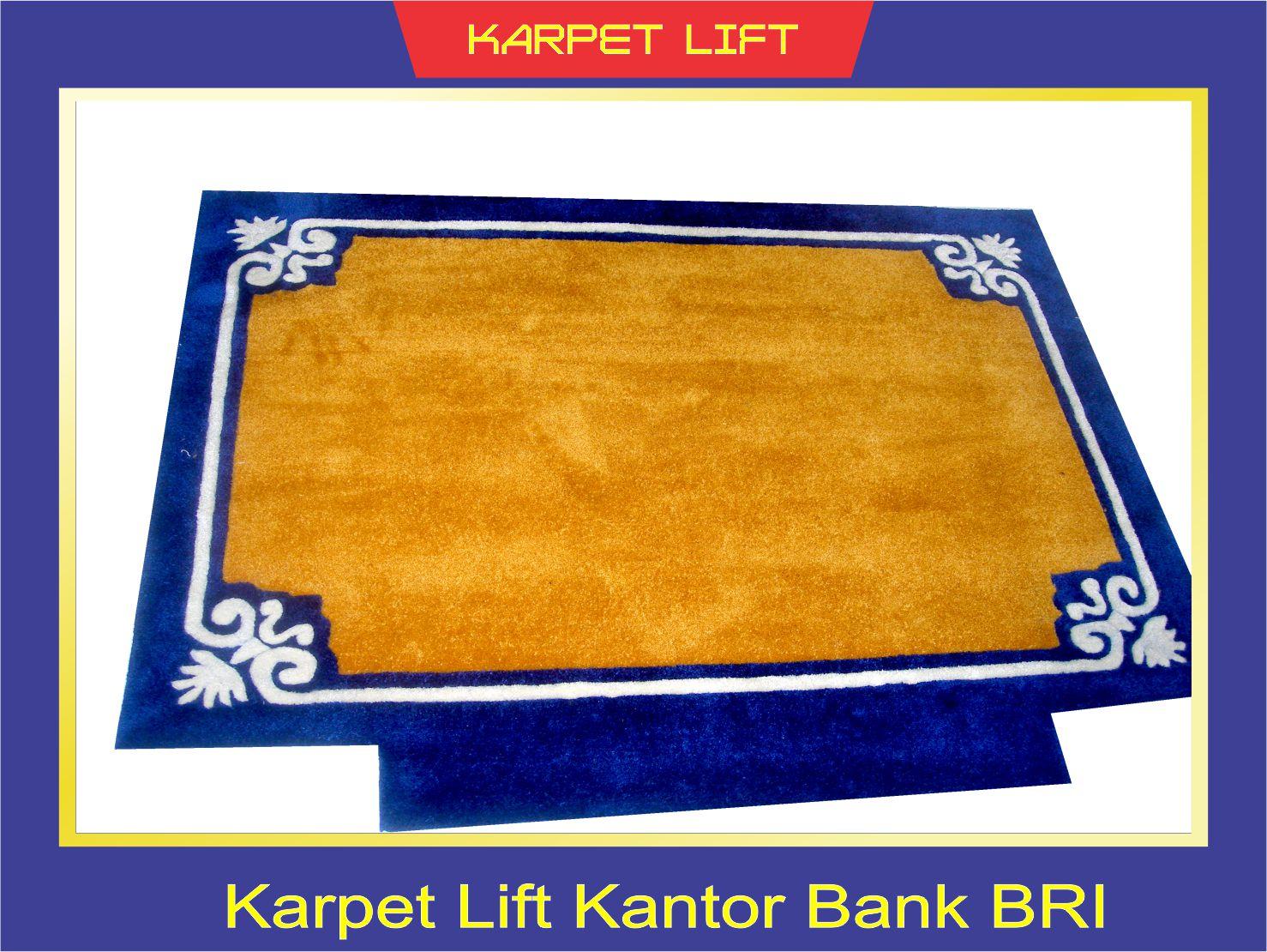 KARPET LIFT KANTOR BANK BRI