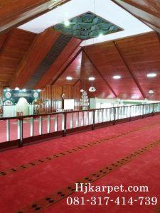 Karpet Masjid Akmil Magelang