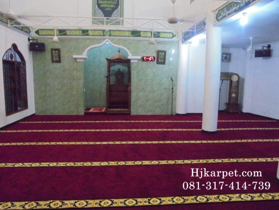Karpet Masjid Al Fath Tangerang