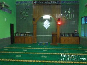 Karpet Masjid Al Fitriyah Harapan Baru