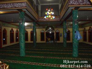 Karpet Masjid Al HUda Ciluya Kuningan