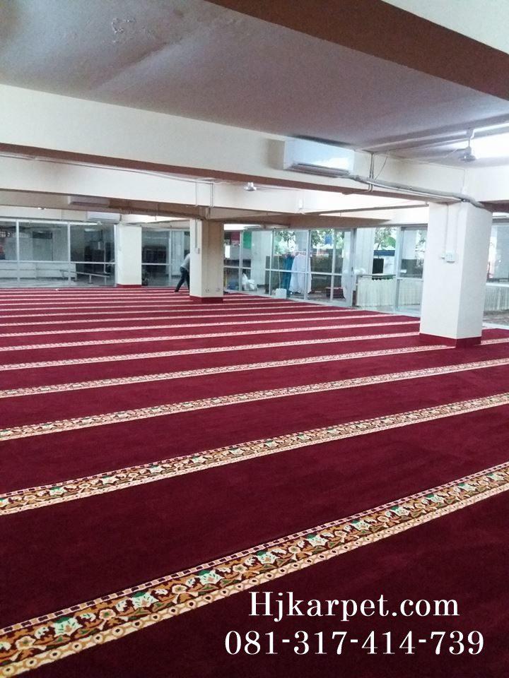 karpet masjid al hakim taman menteng