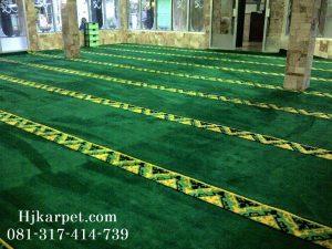 Karpet Masjid Al-Hikmah Perum Permata Biru Bandung