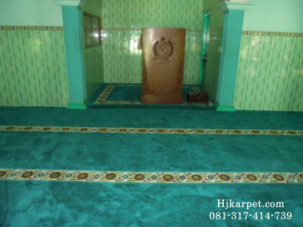 karpet masjid di pangkajene
