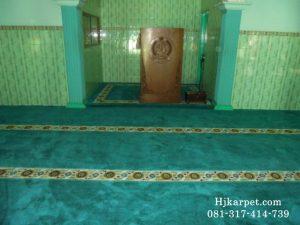 Karpet Masjid Al Muhajirin Aspol Pekalongan
