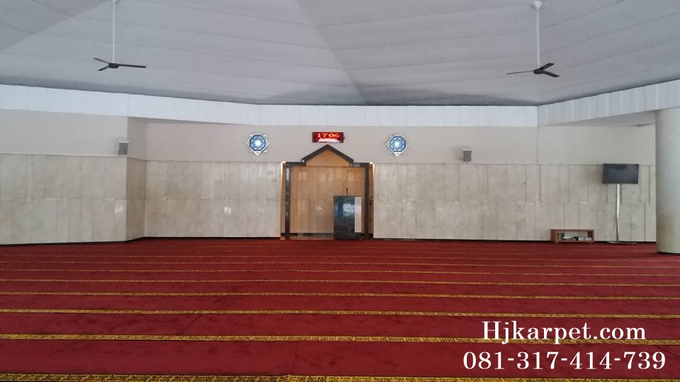 karpet masjid di indramayu