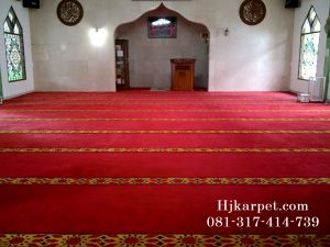 Karpet Masjid Jabal Ar Rahmah Pamulang