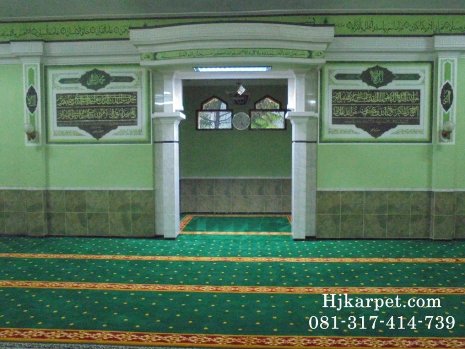 Karpet Masjid Nurussalam Depok