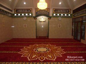 Karpet Masjid Handmade Custom Desain P Priyo