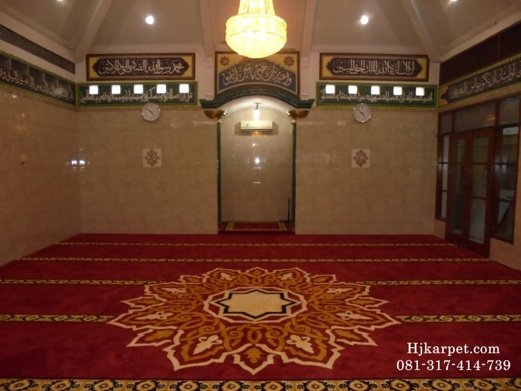 Karpet Masjid Handmade Custom Desain P Priyo HJKARPET COM