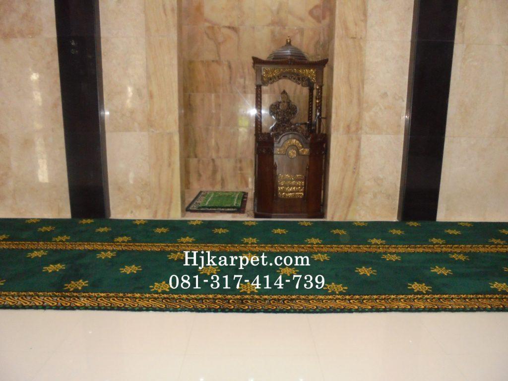 karpet masjid di madiun