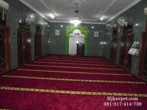 karpet musholla al muslimin palmerah