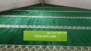 Karpet handmade Custom Desain Musholla PT Denso