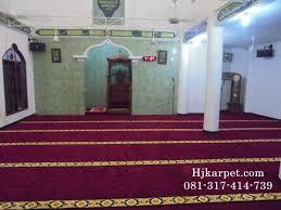 Jual Karpet Masjid di Situbondo Termurah dan Terjamin Kualitasnya