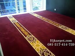 karpet masjid di banjarnegara