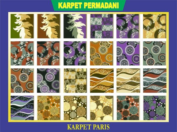 KARPET PERMADANI PARIS