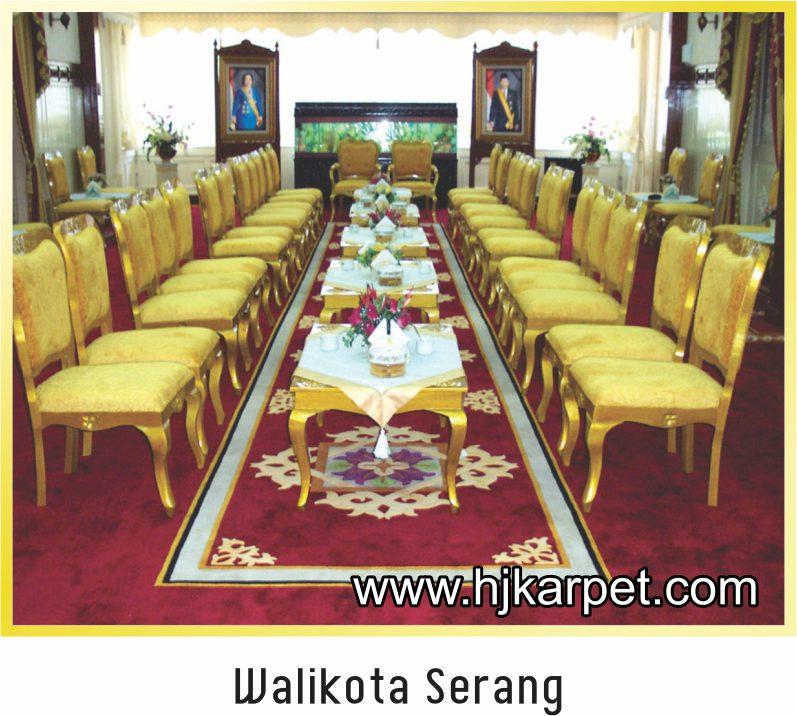 karpet Office Walikota Serang
