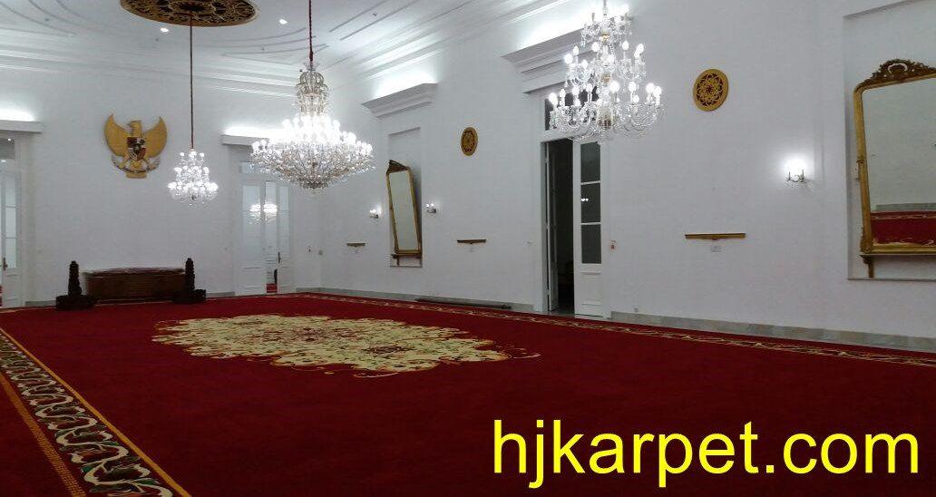 Karpet Istana Yogyakarta Gedung Agung