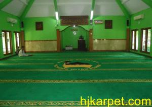karpet masjid al fatah pondok hijau oke