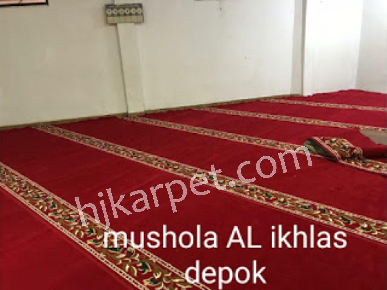 Mushola al-ikhlas depok