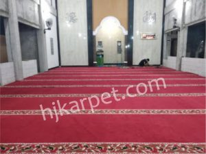 Pemasangan Karpet Masjid Darul Hidayah Griya Asri Bekasi