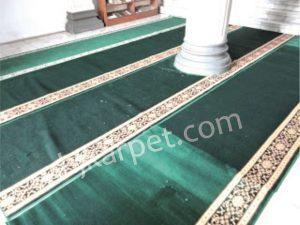 Pemasangan Karpet Masjid Jami Al Mubaarok Margahayu Bekasi