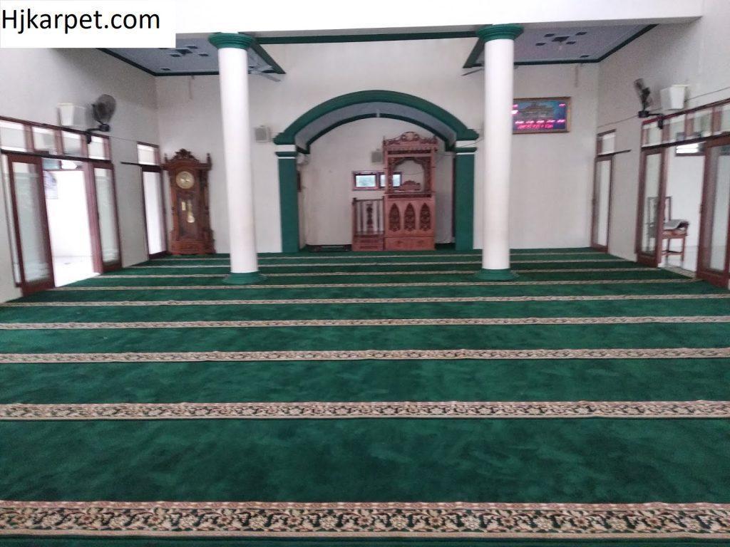 Pemasangan karpet masjid baiturrohman ulujami pemalang