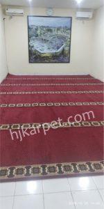 Pemasangan Karpet Masjid Kantor Umroh Jariwarna Bekasi