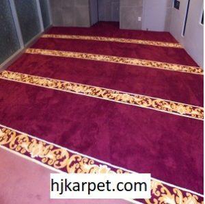 Pemasangan Karpet Masjid Custom Grand Indonesia